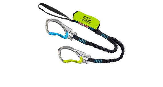 Climbing Technology Hook-it Klettersteigset groen/zwart